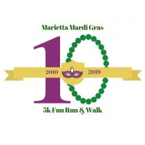10th Annual Mardi Gras 5K Fun Run and Walk